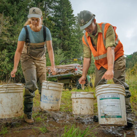 Siuslaw Watershed Council and Ecotrust